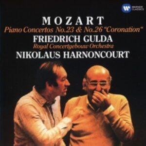 Mozart: Piano Concertos Nos 23 & 26 - Friedrich Gulda