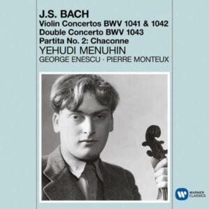 Bach: Violin Concertos - Chaconne - Yehudi Menuhin