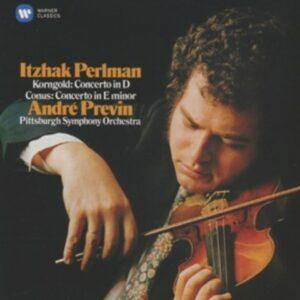 Korngold / Conus: Violin Concertos