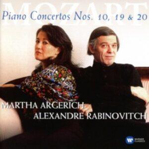 Mozart: Piano Concertos Nos 10, 19&20 - Martha Argerich