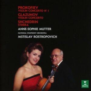 Glazunov & Prokofiev: Violin Concertos - Anne-Sophie Mutter