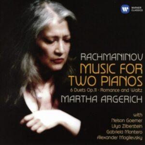 Rachmaninov: Music For Two Pianos - Argerich