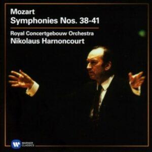 Mozart: Symphonies 38-41 - Nikolaus Harnoncourt