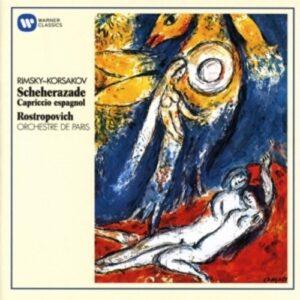 Rimsky-Korsakov: Scheherazade - Mstislav Rostropovich