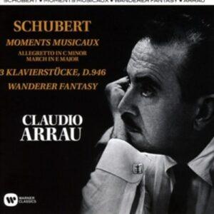 Schubert: Moments Musicaux, Klavierstücke - Arrau