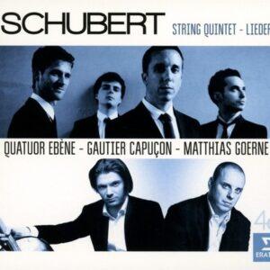 Schubert: String Quintet And Lieder - Quatuor Ébène