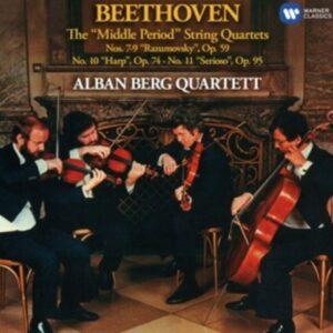Beethoven: String Quartets 7, 8, 9, 10 & 11 - Alban Berg Quartett