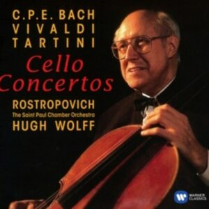 Baroque Cello Concertos - Mstislav Rostropovich