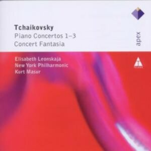 Tchaikovsky: Pianoconcertos 1-3