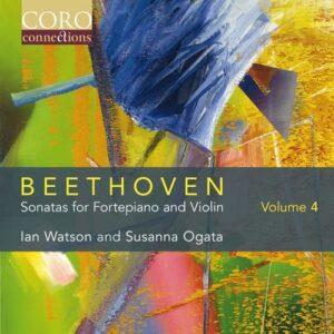 Beethoven: Sonatas For Fortepiano And Violin Vol.4 - Susanna Ogata