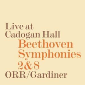 L. Beethoven: Symphony 2 & 8 - Orchestre Revolutionnaire Et Romant / Gardiner