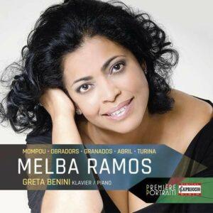 Portrait Melba Ramos (Songs by Turina, Granados, Mompou, Obradors & Abril) - Melba Ramos