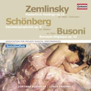 Schonberg / Zemlinsky / Busoni - Linos Ensemble