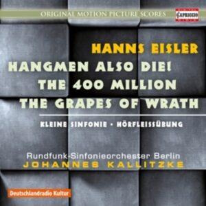 Hanns Eisler: Hangmen Also Die! - Johannes Kalitzke