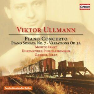 Viktor Ullmann: Piano Concerto - Moritz Ernst
