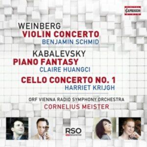Weinberg: Violin Concerto - Benjamin Schmid
