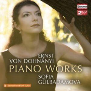Dohnanyi: Piano Works - Sofja Gülbadamova