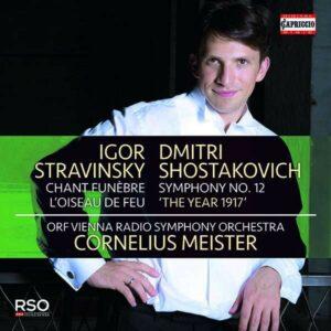 Shostakovich: Symphony No.12 / Stravinsky: Firebird, Chant Funèbre - Cornelius Meister