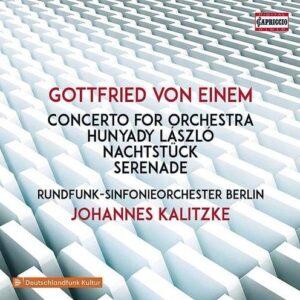 Gottfried Von Einem: Concerto For Orchestra - Johannes Kalitzke