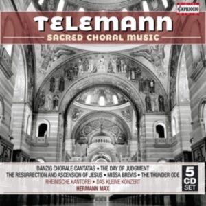 Telemann: Sacred Choral Music - Hermann Max