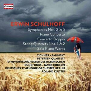 Erwin Schulhoff - The Capriccio Recordings