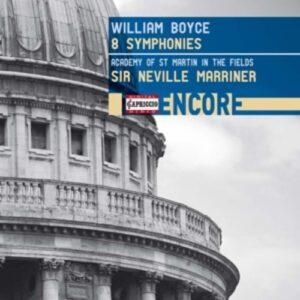 William Boyce: 8 Symphonies - Neville Marriner