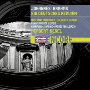 Johannes Brahms: Ein Deutsches Requiem - Herbert Kegel