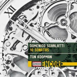 Domenico Scarlatti: 16 Sonatas - Ton Koopman