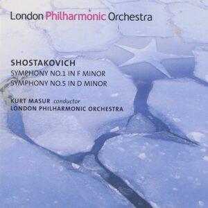 Shostakovich: Symphonies Nos. 1 & 5 - London Philharmonic Orchestra