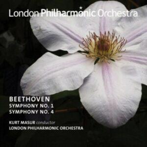 Beethoven Symphonies Nos. 1 & 4 - Kurt Masur