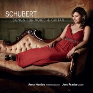 Schubert: Songs For Voice And Guitar - Huntley