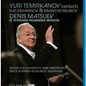 Yuri Temirkanov Conducts Rachmaninov & Rimsky-Korsakov - St Petersburg Philharmonic Orchestr / Temirkanov