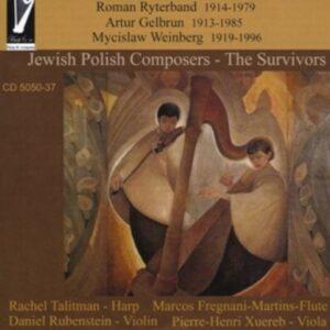 Ryterband, R. / Gelbrun, E. / Weinberg, : Jewish Polish Composers,  The Surviv
