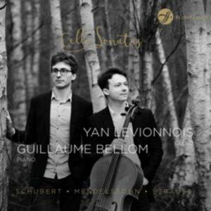 Strauss / Schubert / Mendelssohn: Cello Sonatas - Guillaume Bellom