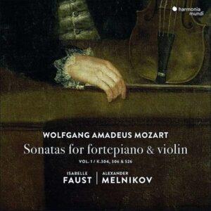Mozart: Sonatas For Fortepiano & Violin Vol.1 - Isabelle Faust