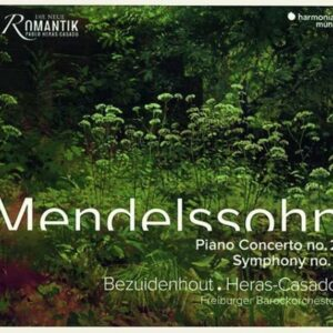 Mendelssohn: Piano Concerto No.2 & Symphony No.1 - Kristian Bezuidenhout