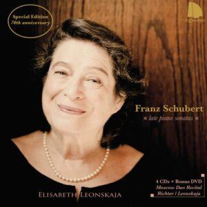 F. Schubert: Late Piano Sonatas - Leonskaja