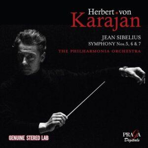 Jean Sibelius: Symphonies Nos.5, 6 & 7 - Herbert von Karajan