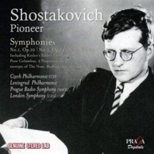 Shostakovitch: Pioneer - Czech Philharmonic