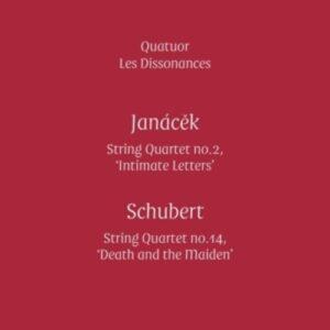 """Janacek: String Quartet No.2 """"Intimate Letters"""" - Quatuor Les Dissonances"""