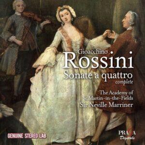 Rossini: Sonate A Quattro (Complete) - Neville Marriner