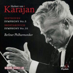 Beethoven: Symphony No.5 / Shostakovich: Symphony No.10 - Herbert von Karajan