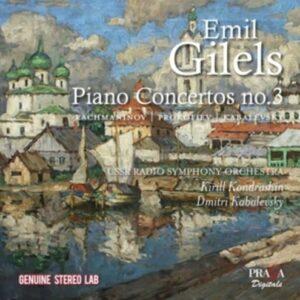 Kabalevsky / Rachmaninov / Prokofiev: Piano Concerto No.3 - Emil Gilels