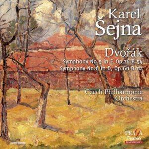 Dvorak: Symphonies Nos.5 & 6 - Karel Sejna
