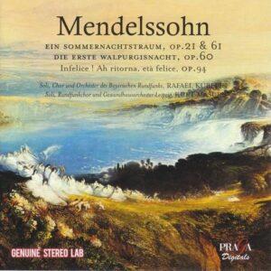 Felix Mendelssohn: Ein Sommernachtstraum - Edith Mathis
