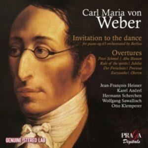 Carl Maria Von Weber: Invitation to the Dance, Overtures - Jean-François Heisser