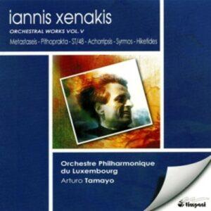 Iannis Xenakis: Orchestral Works Vol. 5 - Tamayo