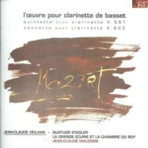 W. A. Mozart: L'Oeuvre Pour Clarinette De Basset - Veilhan