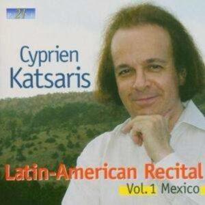 Latin-American Recital Vol.1 Mexico - Cyprien Katsaris