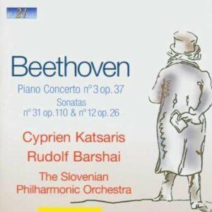 Beethoven: Piano Concerto no.3, Sonata Nos. 31 & 12 - Cyprien Katsaris